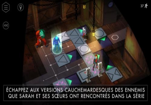 Capture d'écran Orphan Black iOS