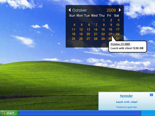 Capture d'écran Remind Mi Calendar