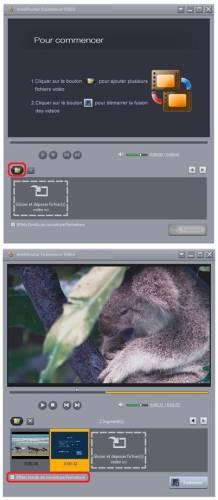 Capture d'écran mediAvatar Fusionneur Vidéo