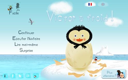 Capture d'écran Victor a froid !