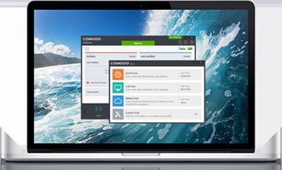 Capture d'écran Comodo Antivirus pour Mac