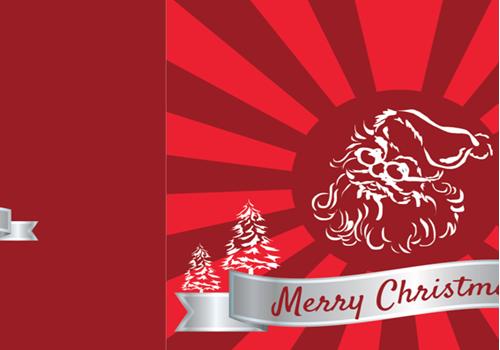 Capture d'écran Carte de Noël 2017 au format Word