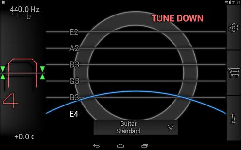 Capture d'écran PitchLab Guitar Tuner (PRO)