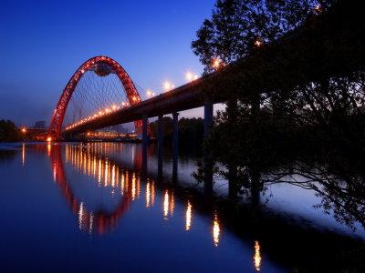Capture d'écran Glowing Bridge Screensaver