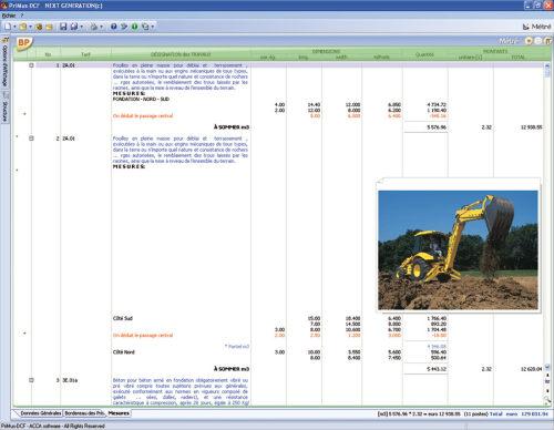 Capture d'écran PriMus-DCF