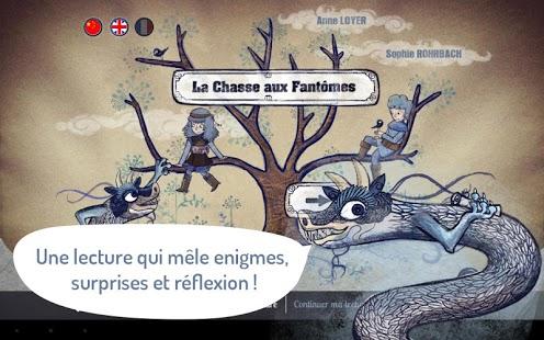 Capture d'écran La Chasse aux Fantômes