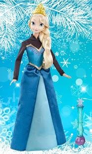Capture d'écran Cute Princess Wallpaper:Frozen