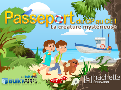 Capture d'écran Passeport CP au CE1