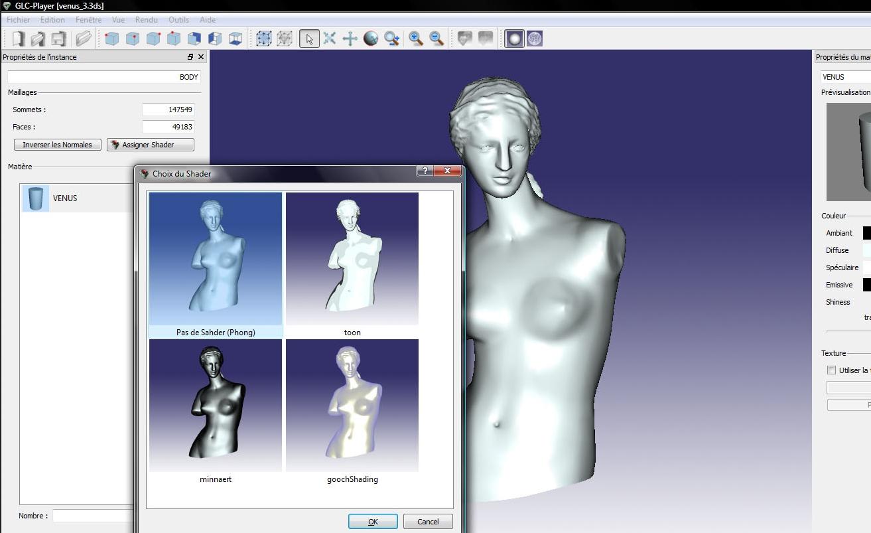 Capture d'écran GLC Player Mac