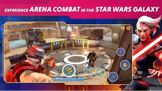 Capture d'écran Star Wars Hunters Android