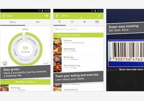 Capture d'écran Lifesum iOS