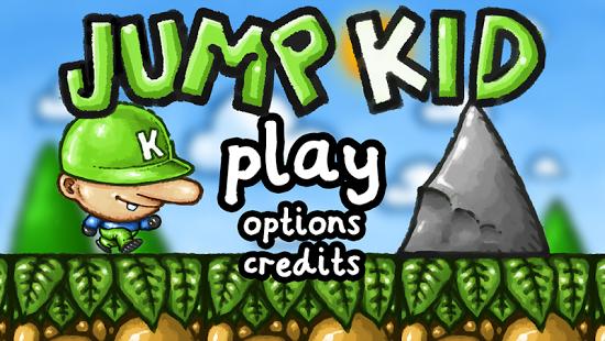 Capture d'écran Jump Kid