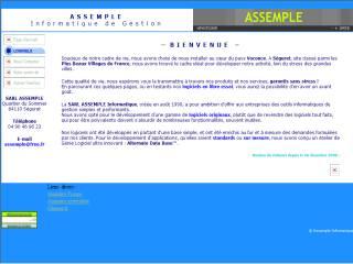 Capture d'écran Abonner © Assemple