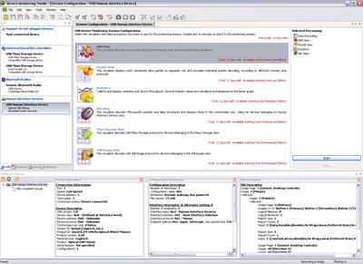 Capture d'écran USB Monitor 3ML Lite