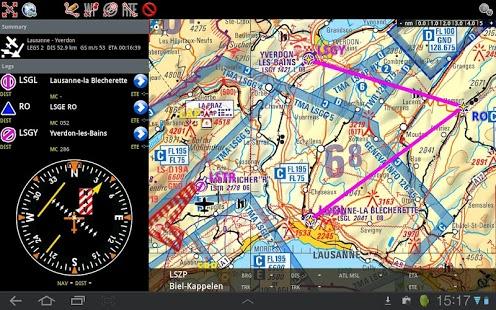 Capture d'écran Air Navigation Pro