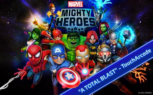 Capture d'écran Marvel Mighty Heroes