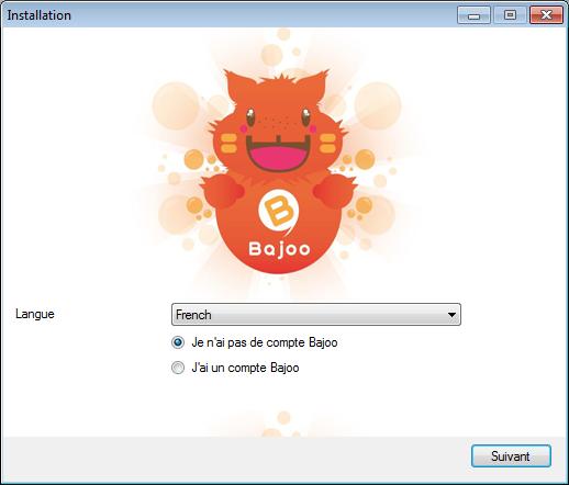 Capture d'écran Bajoo