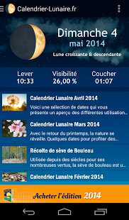 Capture d'écran Calendrier-Lunaire.fr