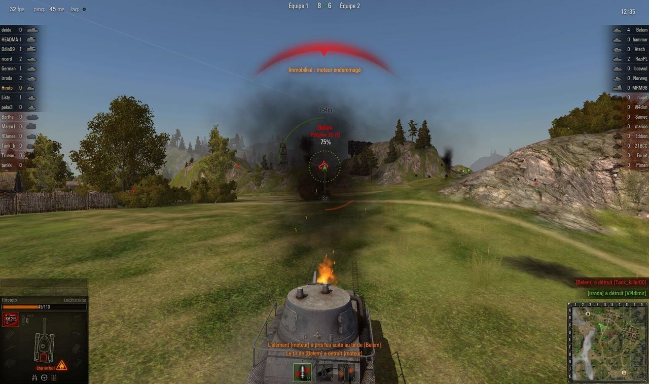 Capture d'écran World Of Tanks