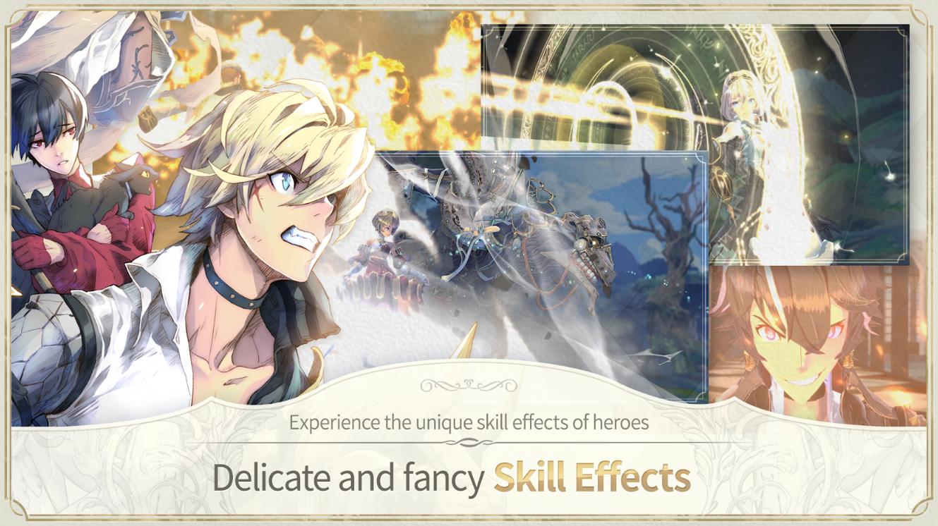 Capture d'écran Exos Heroes Android