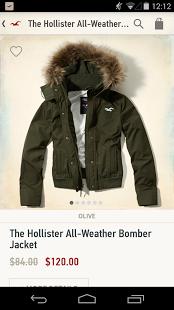 Capture d'écran Hollister So Cal Style