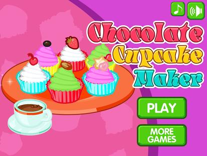 Capture d'écran Petit gâteaux au chocolat