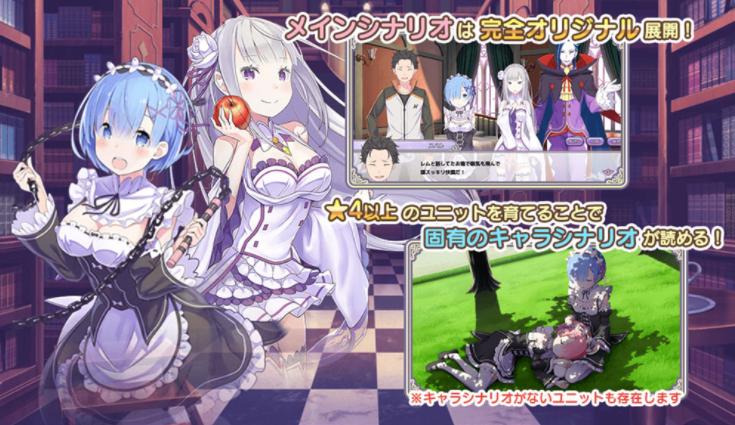 Capture d'écran Re:Zero Kinsho iOS