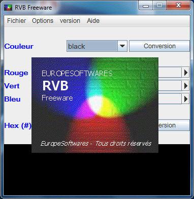 Capture d'écran RVB