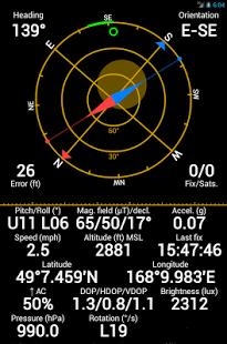 Capture d'écran GPS Status PRO – key (25% off)