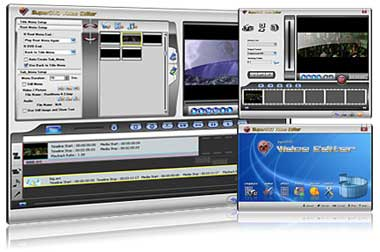 Capture d'écran SuperDVD Video Editor