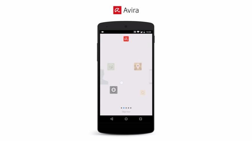 Capture d'écran Avira Antivirus Security
