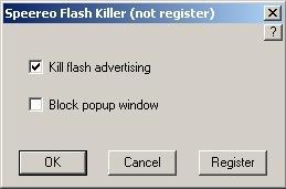 Capture d'écran Speereo Flash Killer