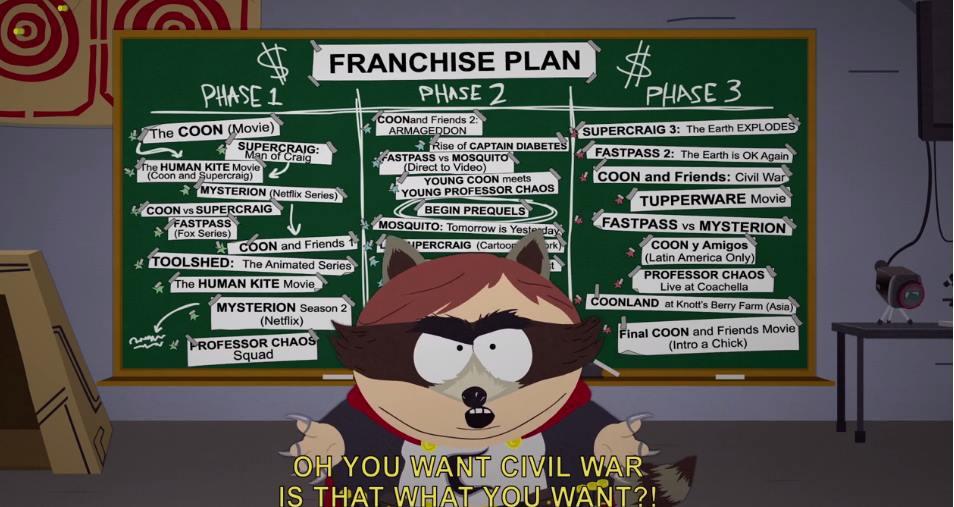 Capture d'écran South Park: L'annale du destin