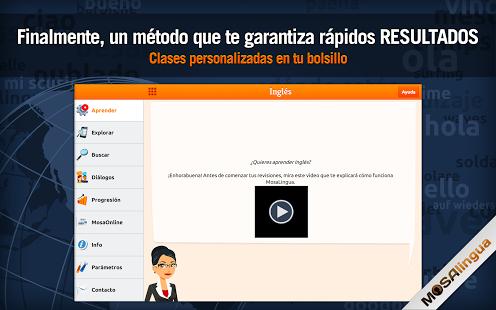 Capture d'écran Aprender Inglés de Negocios