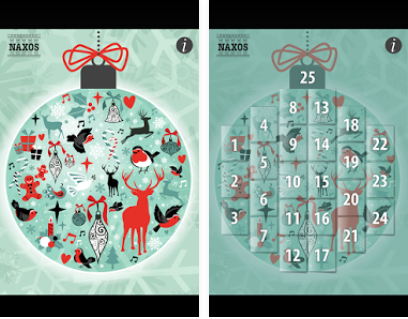 Capture d'écran Musical Advent Calendar iOS