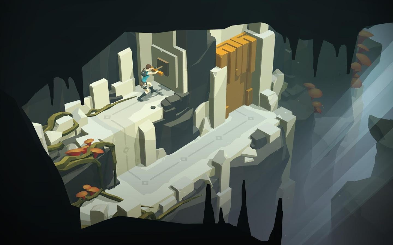 Capture d'écran Lara Croft Go Android