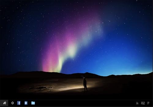 Capture d'écran Remix OS