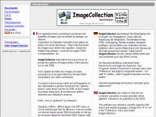 Capture d'écran ImageCollection