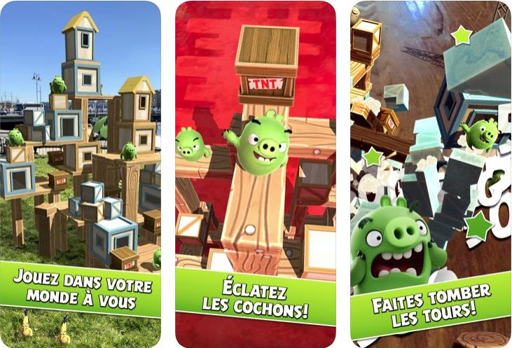 Capture d'écran Angry Birds AR : Isle of Pigs iOS
