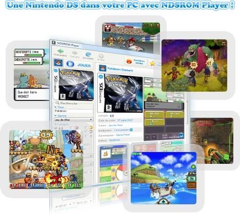 Capture d'écran NDSROM Player
