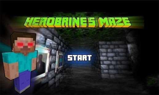 Capture d'écran Herobrine`s Maze