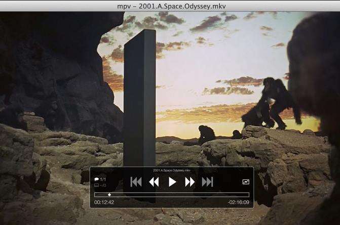 Capture d'écran MPV