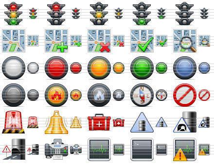 Capture d'écran Standard Road Icons