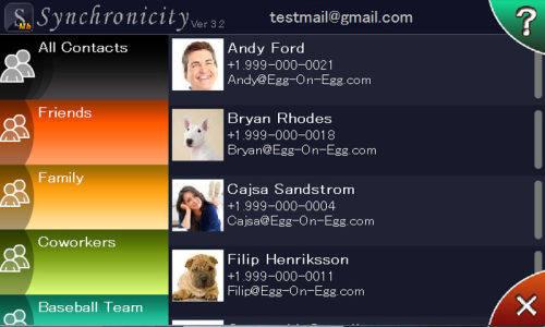 Capture d'écran Synchronicity for Android
