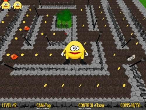 Capture d'écran Pacco Quest 3D
