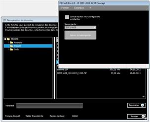 Capture d'écran Piksoft Pro