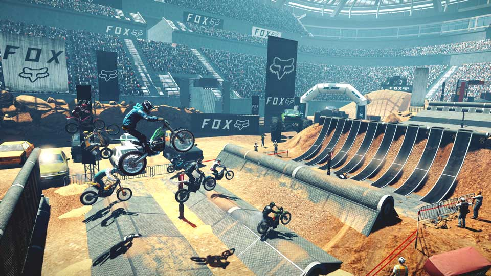 Capture d'écran Trials Rising