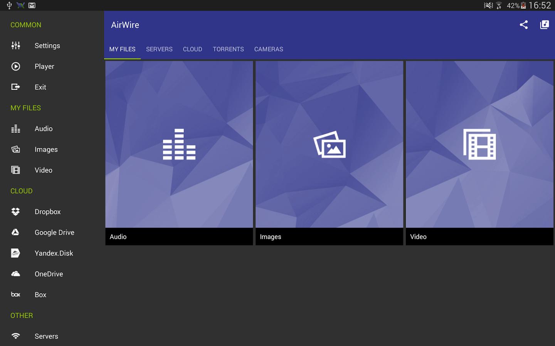 Capture d'écran AirWire (UPnP/DLNA) Android