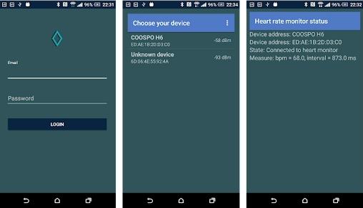 Capture d'écran Pulsoid Android