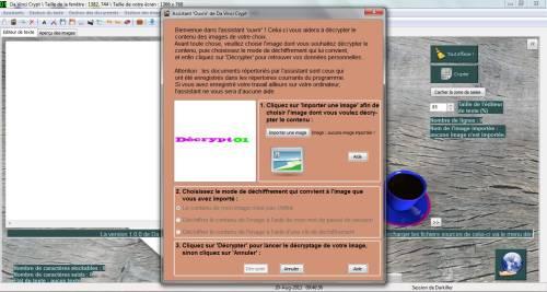 Capture d'écran Da Vinci Crypt